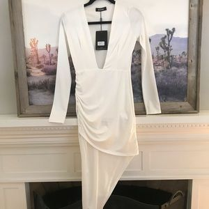 MISGUIDED White Dress - NEVER WORN